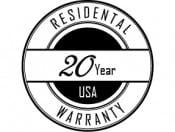 Poly 20 Year Warranty