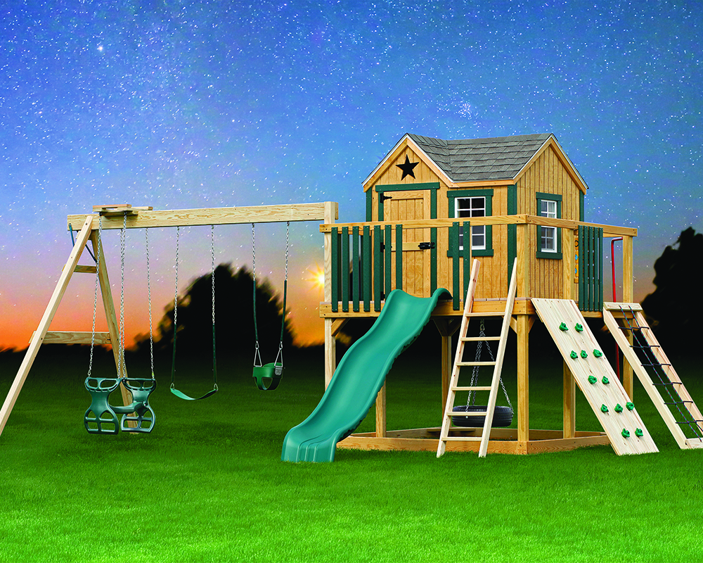 Wooden Swingset Expedition