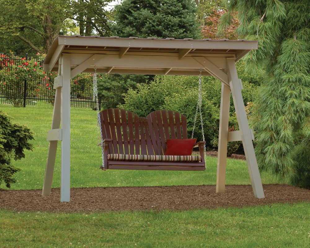 Swing A Frame Roof Green Acres Outdoor Living