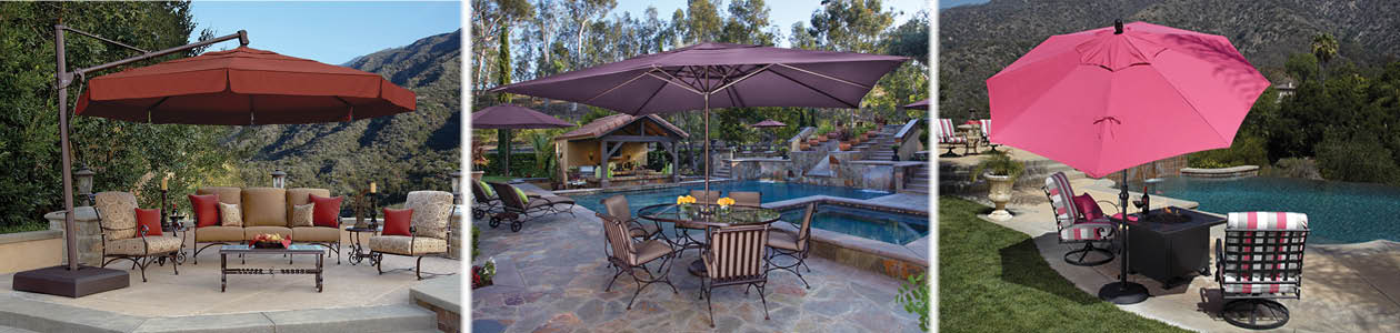 patio umbrella banner