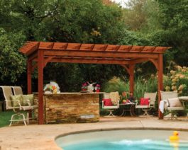 Traditional Wooden Pergola