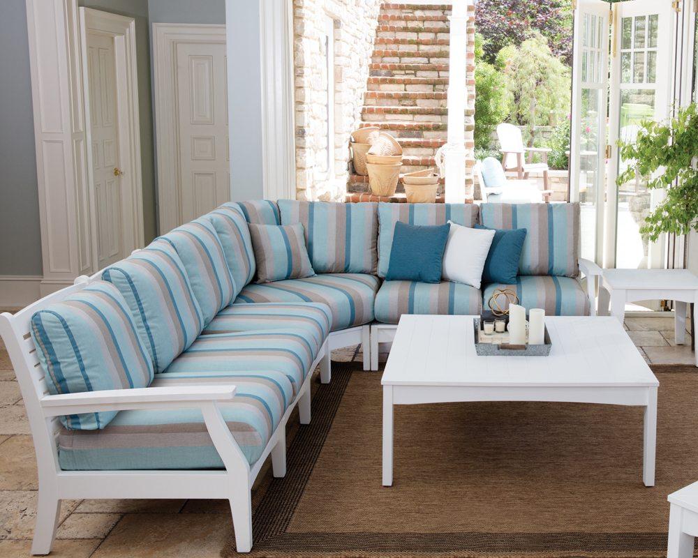 Classic Terrace Sectional Sofa.