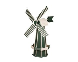 Green & Ivory Windmill
