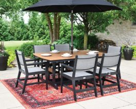 "Mayhew 44""x72"" Table Set"