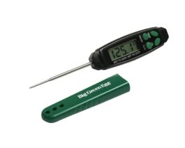 Big Green Egg quick read digital food thermometer.