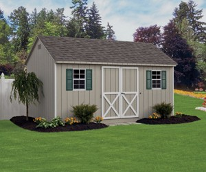 Signature Cape Cod Storage Shed