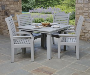 Homestead 44x44 Table with Classic Terrace Chairs