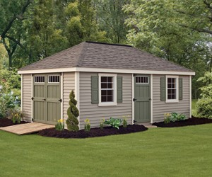 Provincial Deluxe Vinyl Shed