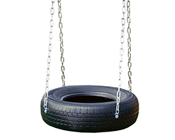 4 Chain Tire Swing.