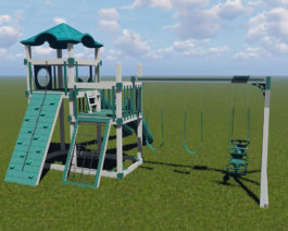 Denali 5'x10' Playset - Layout #4.