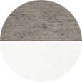 Berlin Gardens Driftwood Gray & White Color Sample.