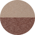 Berlin Gardens Weatherwood & Chocolate Brown Color Sample.
