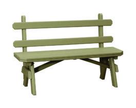 Windy Valley Garden Bench w/Back
