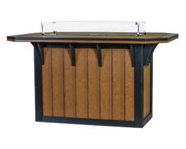 Windy Valley 46x72 SummerSide Fire Table Bar