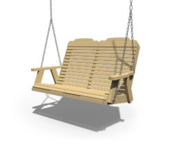 Patiova Wooden Traditional 4ft Swing