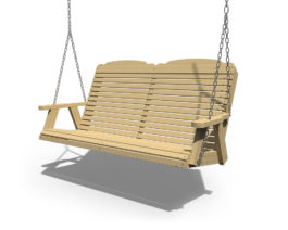 Patiova Wooden Traditional 5ft Swing